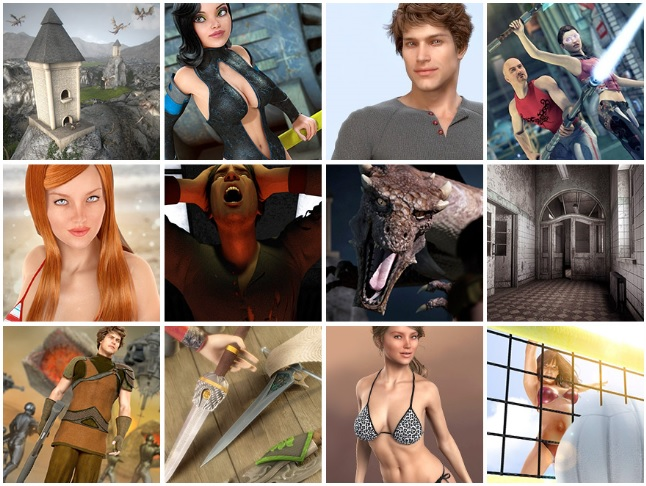 With DAZ 3D content your only limits are your imagination